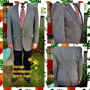 Vintage Austin Reed Herringbone Sports Coats